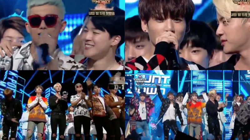 "Watch: BTS Takes 1st Win For ""Fire"" On ""M!Countdown"" + Performances By Tiffany, Woohyun, AKMU, Stephanie, and More"