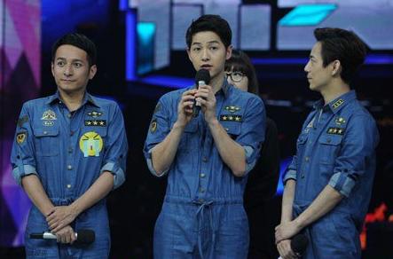 Song Joong Ki chinese variety show3