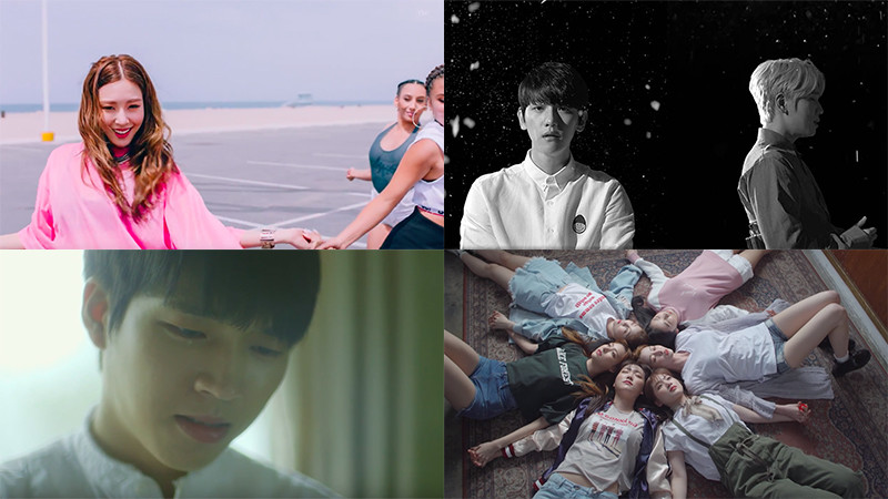 This Week In K-Pop MV Releases: Tiffany, Woohyun, K.Will x Baekhyun & More – May Week 2