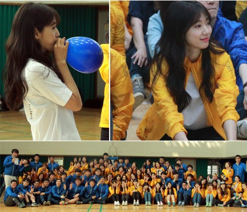 Park Shin Hye Hosts Sports Day Event For Her Fans