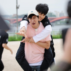 "BTS's Jimin Gets A Piggyback Ride From Lee Kwang Soo On ""Running Man""?"