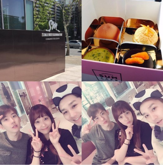 Jo Kwon Visits SM Entertainment Headquarters For the First Time