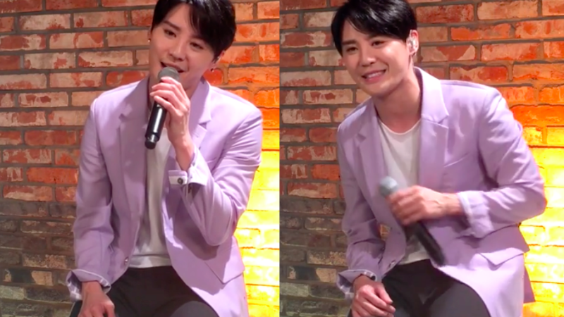 """Watch: JYJ's Junsu Performs Pre-Comeback Track """"..Is You"""" Live"""