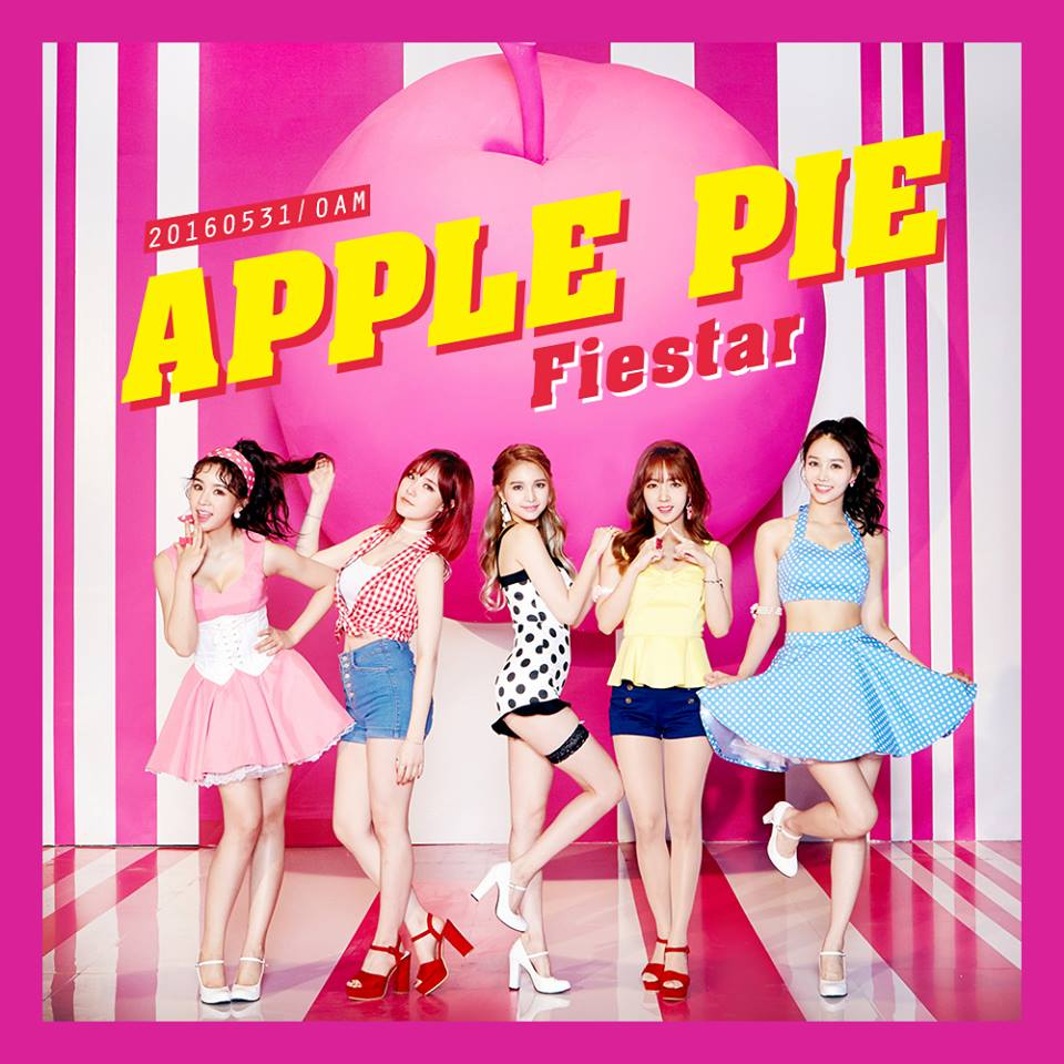 "FIESTAR Shares Teaser Image For Comeback With ""Apple Pie"""
