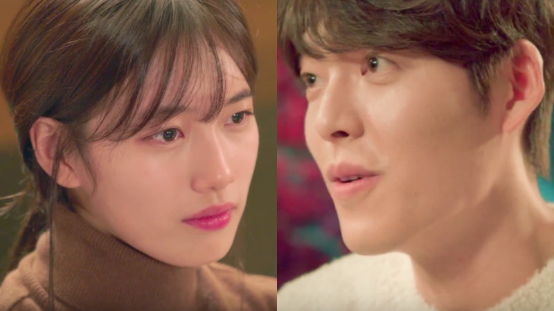 """Kim Woo Bin And Suzy Make Sparks Fly In New """"Uncontrollably Fond"""" Teaser"""
