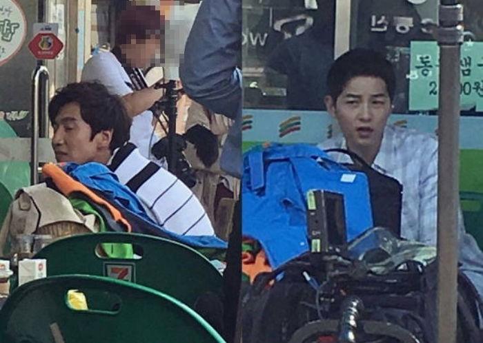 Lee Kwang Soo Song Joong Ki 1