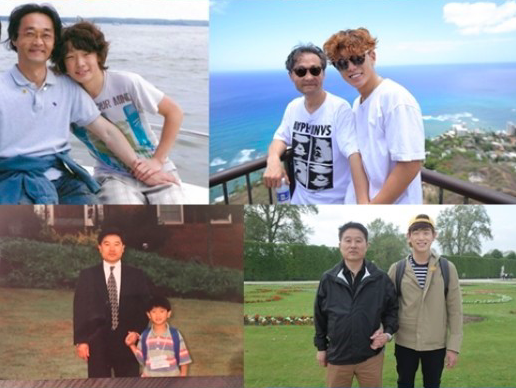 Roy Kim, iKON's Bobby, Eric Nam, And More Re-Create Old Photos With Their Fathers