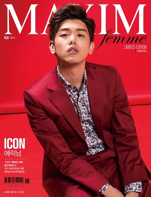 Eric Nam Changes His Good Boy Image To Sexy For MAXIM Femme