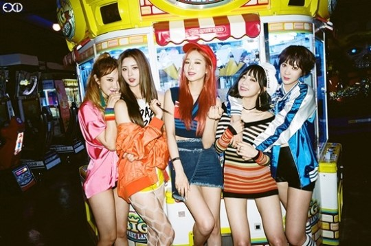 EXID DisplaysInformation For First Studio Album Street