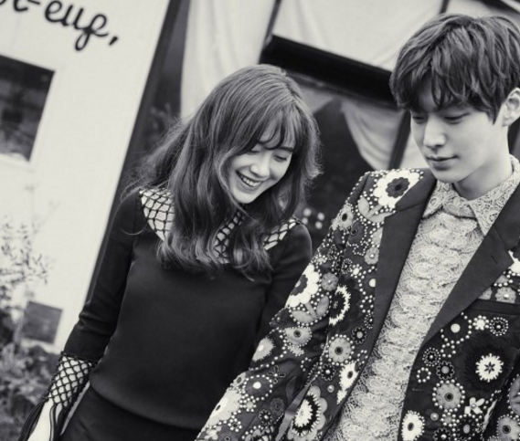 Ahn Jae Hyun and Ku Hye Sun Make Their Marriage Official