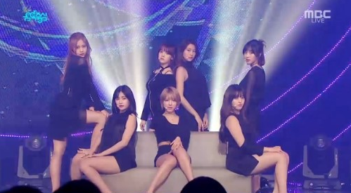 """Watch: AOA, MONSTA X, Tiffany, And More On """"Music Core"""""""