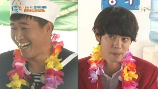 "Kim Jong Min And Jung Joon Young Are Disgruntled Partners On ""2 Days 1 Night"""