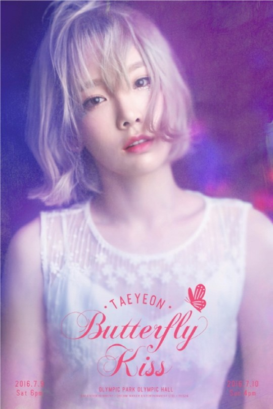 Girls' Generation's Taeyeon Shares Details Of Solo Concert With Beautiful Poster