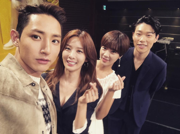 "Hwang Jung Eum, Ryu Jun Yeol, And More Celebrate Premiere Of ""Lucky Romance"" With Group Shots On Instagram"