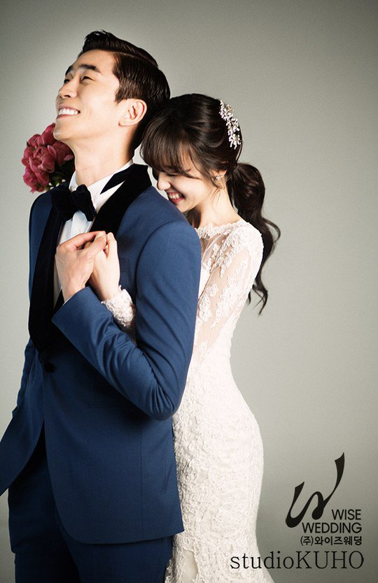 Shin Sung Rok Is An Ecstatic Groom In Wedding Photos