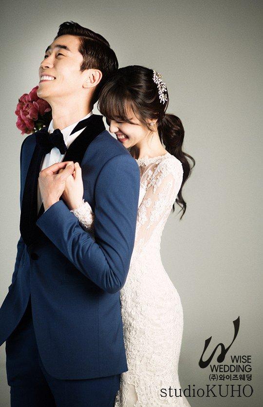 Shin Sung Rok Is An Ecstatic Groom In Wedding Photos