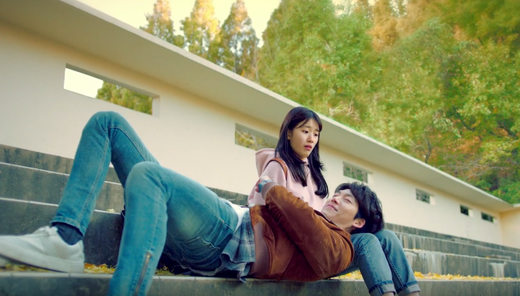 "Watch: Kim Woo Bin And Suzy Start Their Romance In Second Teaser For ""Uncontrollably Fond"""