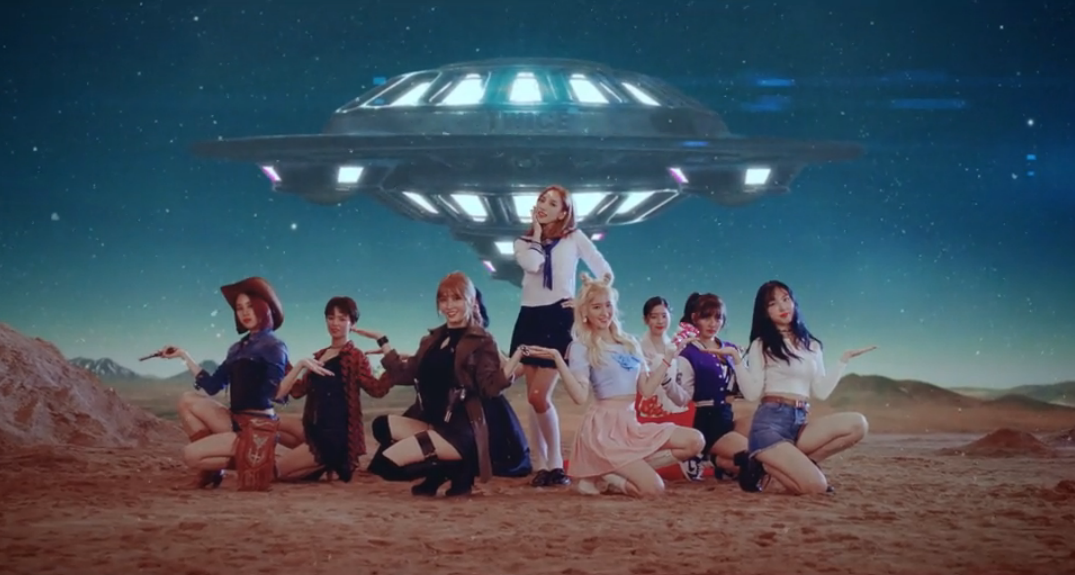 "Watch: TWICE Shares Out-Of-This-World Cosplay Version Of ""Cheer Up"" MV"