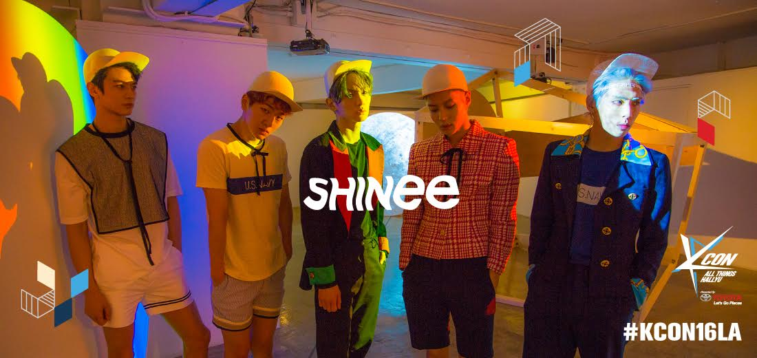 SHINee Joins KCON LA As A Headliner Artist