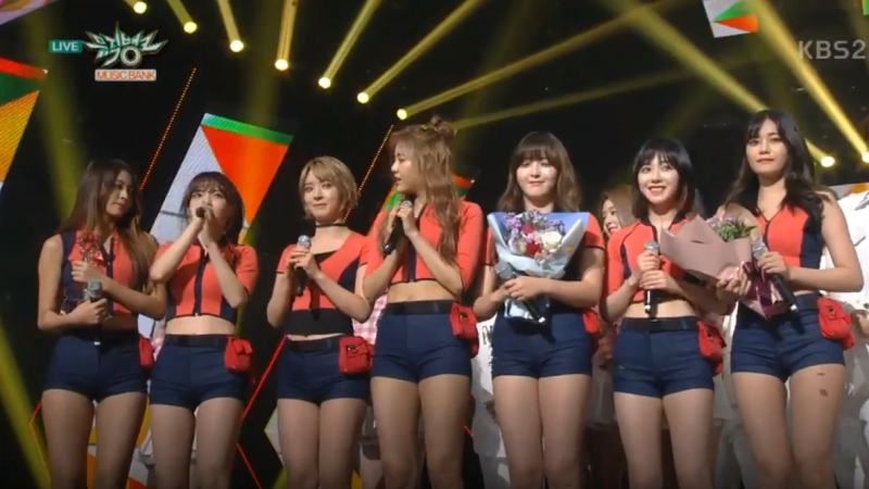 "Watch: AOA Gets 3rd Win With ""Good Luck"" On ""Music Bank,"" Performances By Jonghyun, MONSTA X, TWICE, And More"