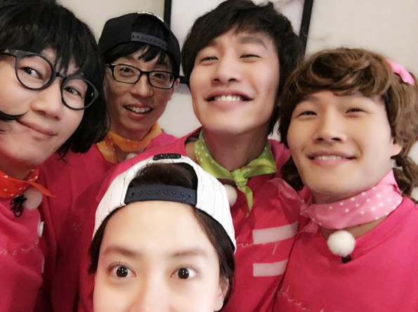 Ji Suk Jin And Kim Jong Kook Rework Into Pretty Ladies In Pink