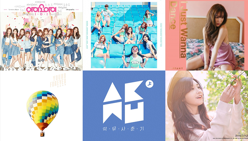Weekly K-Pop Music Chart 2016 – May Week 4
