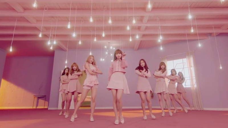 "Watch: Lovelyz Drops Attractive Choreography Version Of ""Destiny"" MV"