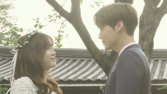 "Ku Hye Sun And Ahn Jae Hyun Reveal ""Wedding"" Photos"