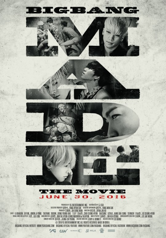 BIGBANG's First 10th Anniversary Project Is A Movie!