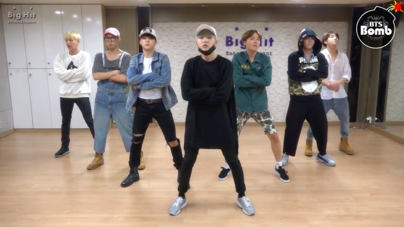"""Watch: BTS Drops """"Excited"""" Version Of Dance Practice Video For """"Baepsae"""" As Part Of 3rd Anniversary Festa"""
