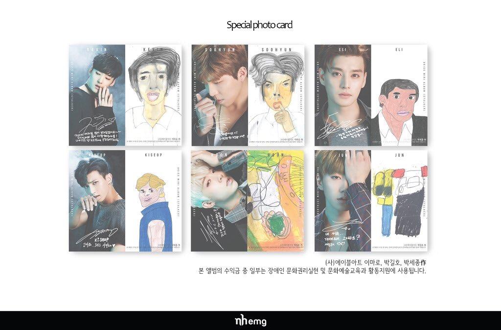 u-kiss photo cards