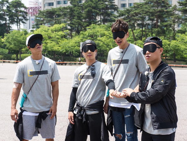 """""""Running Man"""" Members Fumble With Mysterious Mission"""