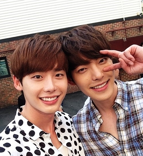 Friends Lee Jong Suk And Kim Woo Bin To Face Off In Ratings Battle