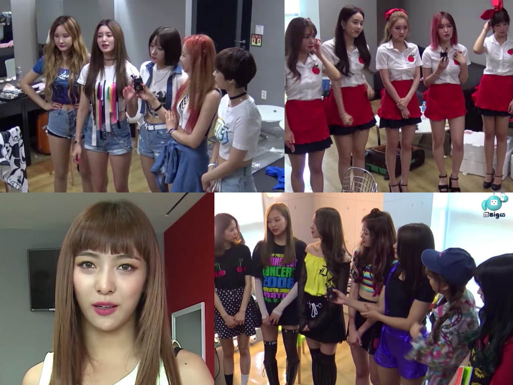 Watch: EXID, FIESTAR, Luna, And CLC Share Beauty And Diet Tips
