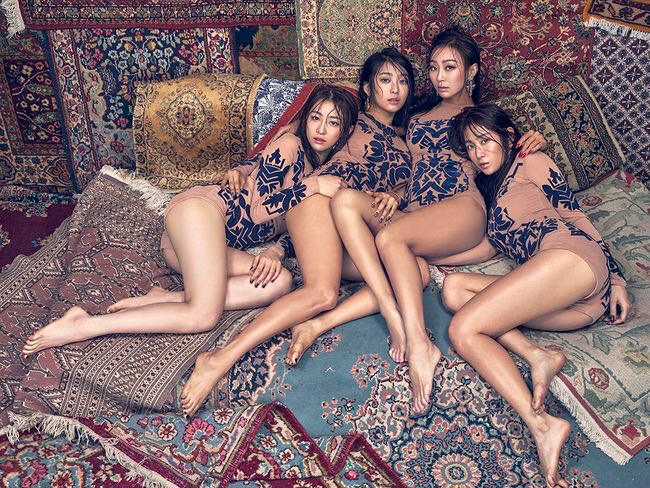 SISTAR Achieves Perfect All-Kill On Live Music Charts With I Like That