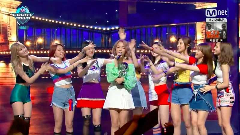 """Baek A Yeon Takes 3rd Win For """"So So"""" On """"M!Countdown,"""" Performances By EXO, U-KISS, Luna, And More"""