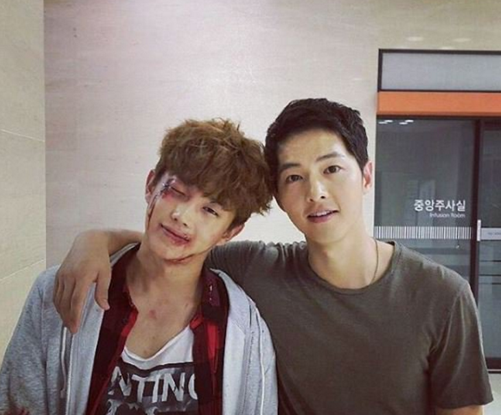 Song Joong Ki Gives Generous Housewarming Gift To Co-Star Kim Min Suk