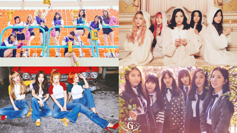 4 Of The RecentMost popular Girl Groups