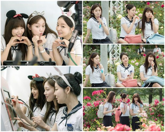 "Park Shin Hye, Lee Sung Kyung, And Moon Ji In Are Cute High School Girls In ""Doctors"" Stills"