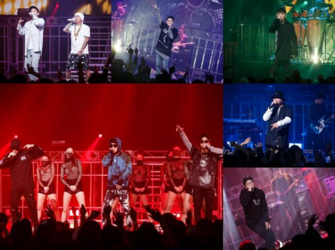 Watch: Show Me The Money 5 Producers Get The Stage Lit With Special Performances