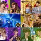 "Watch: B1A4's Sandeul, So Chan Whee, Na Yoon Kwon And More Strive To Win On ""Duet Song Festival"""