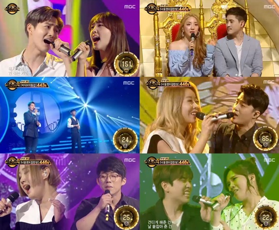 Watch: B1A4s Sandeul, So Chan Whee, Na Yoon Kwon And More Strive To Win On Duet Song Festival