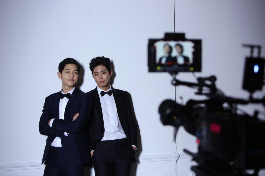 Song Joong Ki Park Bo Gum Dominos 3