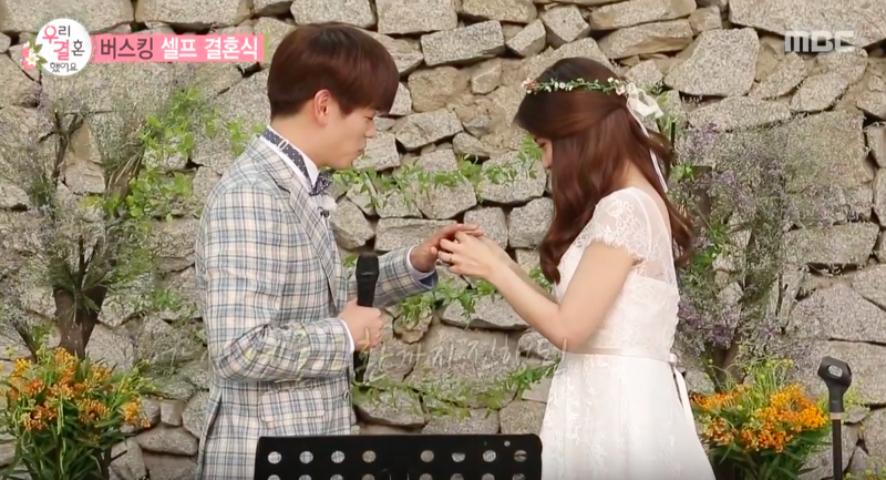 Watch: Eric Nam and MAMAMOOs Solar Exchange Rings In Busking Ceremony On We Got Married