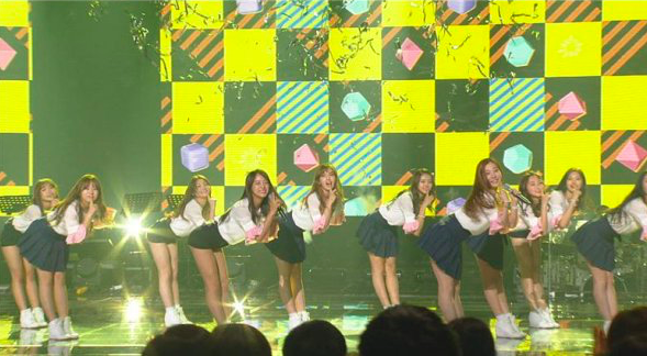 "Watch: I.O.I Put On An Energetic Retro Performance On ""Immortal Song 2"""