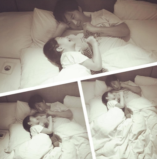 Tablo And Daughter Haru Spend Sweet Cuddle Time Together