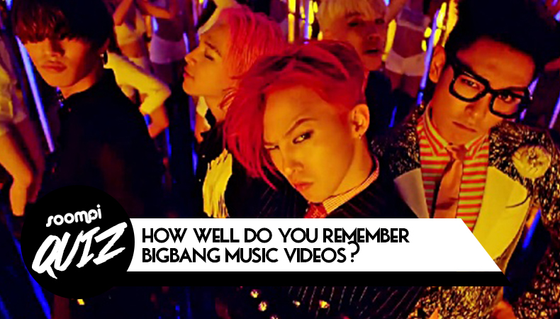 QUIZ: How Well Do You Be aware BIGBANG Music Videos?