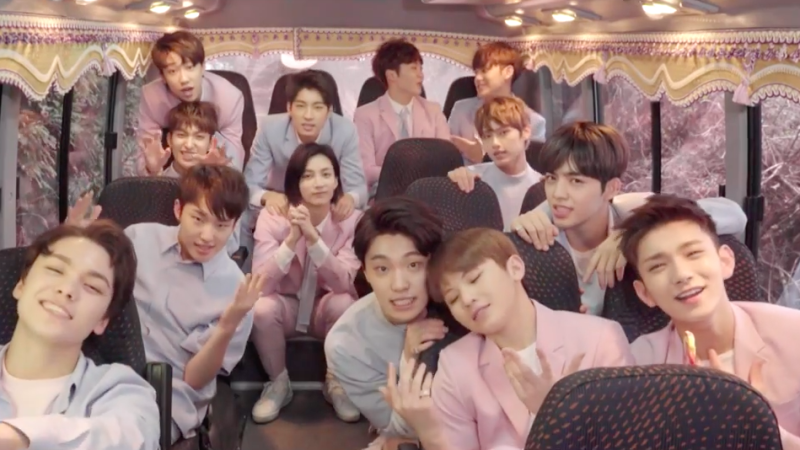 "Watch: SEVENTEEN Sends Fans A ""Love Letter"" In New MV"