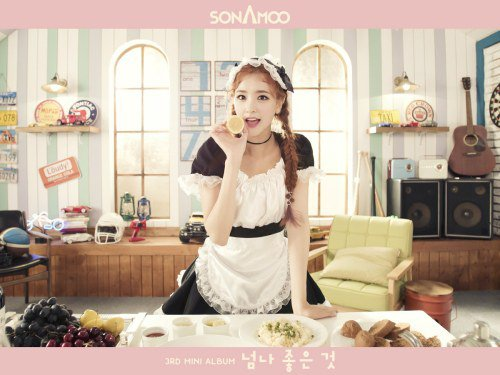 SONAMOO Teases I admire U Too Much 3rd Mini Album Comeback