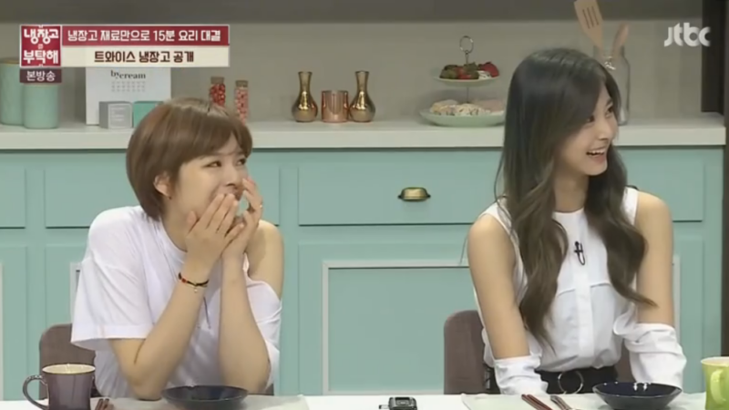 Watch: Tzuyu And Jungyeon Reveal The Contents Of TWICE's Fridge And Accidentally Betray Their Messiest Member